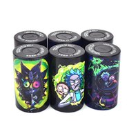 Cartoon Printing Colorful Butt Bucket 165ml Storage Jar Wax Stash Vape Retail Container Keep Fresh Plastic Can