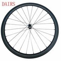 자전거 바퀴 700C 디스크 휠셋 비대칭 38x25mm 관형 프론트 휠 탄소 Novatec 100x12mm 허브 기둥 1420 도로