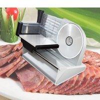 Fleischschleifer 200w Electric Slicer Haushalt Desktop Lammscheibe Gemüse Brottopf Schinken Maschine Einstellbare Dicke