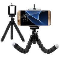 Supporto per telefono per teclico alle gambe di polpo flessibile Accessori per smartphone Supporto Mobile Treppiede mobile per Galaxy A3 A5 A7 2021 A320 A520 supporti cellulari