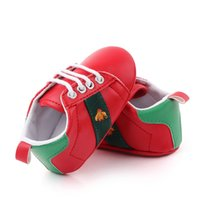 Autumn Baby Boys Girls Fashion Sneakers Soft Sole Infant Toddler First Walkers Scarpe sportive 0-18m