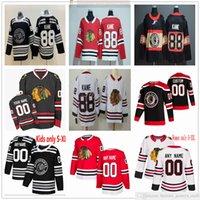 Personalizzato 2021 Retro hockey retro Chicago Blackhawks Patrick Kane Jonathan Toews Andrew Shaw Alex Debrincat Keith Men Donne GIOVANILE BAMBINI BAMBINI