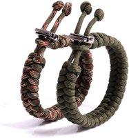 Outdoor Gadgets Adjustable Bracelet Camping Survival 7 Core Paracord Men Sports Parachute Cord