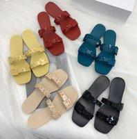 2021 Moda Kadın Jöle Terlik 01 02 Sandalet Plaj Kalın Alt Terlik Platformu Bayan Alfabe Lady Yüksek Topuk Slaytlar Ayakkabı 35-41