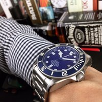 Men Automatic Mechanical Movement Blue and Green Outdoor Sport Wristwatch 42mm Luxury Stainless Steel