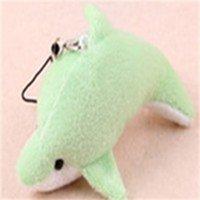8 см фаршированные маленькие рыбы плюшевые милые игрушки маленький дельфин многоцветный мини китовый мобильный телефон подвески подарок 1 час K2