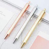 Stücke Lytwtw's Roller Kugelschreiber Luxus Nette Hochzeit Rose Gold Metall Schreibwaren Schulbüro Lieferung Hohe Qualität Spinnstifte