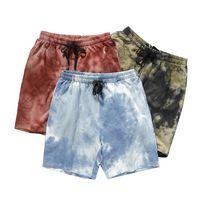 Mens Hiphop Teas Teal Color Shorts Мода активна работает спортивная одежда мальчики дышащие баскетбольные штаны оптом летняя одежда
