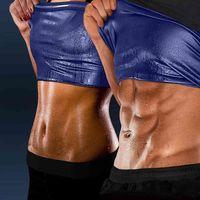 Hot Body Shaper Sauna Vest Gym Top Sweat Hot Shaper Men Direct Shaping Slims Fitness Vests Women Workout Sports Shirt Shavers