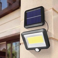 Modalità 56LED / 100LED COB COB Solar Solar Light Sensore di movimento da esterno Autoapprovismo Via di emergenza Via di Emergenza Street Security Porch Lamp Lampade