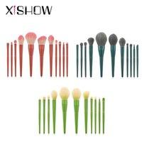 Makeup Brushes Professional Set Loose Powder Contour Highlighting Eyeshadow Blending Eye Brow Make Up Tool Brush Kit