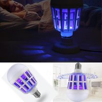 New LED Anti-Mosquito Bulb 15W 1000LM 6500K Electronic Insect Lure Kill Bulb Bedroom Mosquito Kill Night lamps*