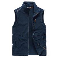 Men's Vests Autumn Shellsolf Vest Jacket Men Sleeveless Outwear Travel Mountain Climbing Hiking Fishing Waistcoat Clothing