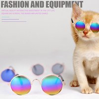 Pet Sunglasses Decorative glasses Cat Accessories Dog Apparel Personal Headwear Dogs Supplies Fashion And Simplicity DHL Free
