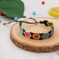 Go2boho Miyuki Bracelet Turkish Evil Eye Bracelets Handmade Beads Accessories Lucky Greek Pulsera Gift Female Women Jewelry Charm
