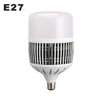 AC220V 높은 전원 LED 램프 전구 50W 100W 울트라 밝기 LED 전구 E27 공장 램프 6500K 창 고 슈퍼 시장 조명