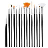 Nail Art Kits 5 7 15 Pcs set UV Gel Brush Tool Set For Manicure Acrylic Drawing Pen Point Design Flower Painting