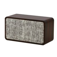 Q2 Portable Bluetooth Wireless Wooden Speaker Bass Subwoofer Music Player 10W Speakers 12000mAh Battery