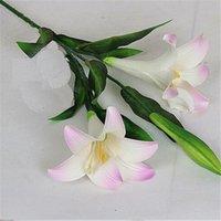 97cm pu látex Calla lírio flor real toque casamento buquê de casamento flores para casamento decorações de mesa de casa dsf0685