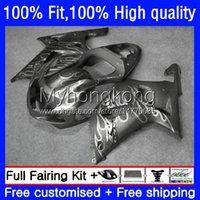 Motorcycle Body For SUZUKI GSXR 1000CC 1000 Grey flames CC Injection Mold Bodywork 24No.147 GSXR-1000 00-02 GSXR1000 K2 00 01 02 GSX-R1000 2000 2001 2002 OEM Fairing