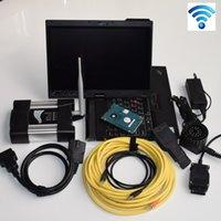 Scanner di codice OBD2 WiFi ICOM Avanti per BMW V2021.03 Software EXPERT MODE 1TB HDD Strumento diagnostico X200T usato per laptop X200T