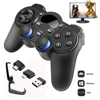 2.4 G Controller Gamepad Android Wireless Joystick Joypad With OTG Converter For PS3 Smart Phone Tablet PC Smart TV Box Game Controllers & J
