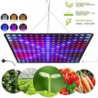 Grow Lights 1000W 225 LED Plant Lamp Square Full Spectrum Light Panel Flower Nursery Growth For Indoor Hydroponic Greenhouse