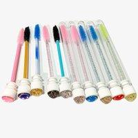 20/30 / 50pcs Mascara Eyelash Spoolies Spazzole Spazzole Lash Tube Applicatore Bacchetta monouso con trucco