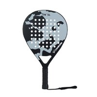 Tennis Rackets 2021 Professional Carbon Fiber Padel Racket Soft Face Paddle Racquet With Bag Cover