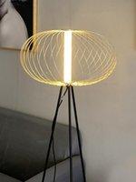 Floor Lamps Modern LED Corner Nordic Oriental For Living Room Bedroom Elegant Design