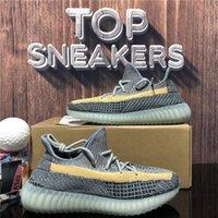 En Kaliteli Kanye Erkek Kadın Koşu Ayakkabı Kilit Kül İnci Mavi Kuyruk Işık Siyah Statik Yansıtıcı Zebra Israfil Keten Erkek Açık Platformu Spor Trainer Sneaker