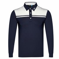 Herren T-Shirts Frühling Herbst Langarm Golf T-3 Farben Männer Jl Kleidung Outdoor Sports Freizeit S-XXXL In der Wahl QL33