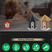 Outdoor Ultrasonic Pet Training Bark Control Devices Barking Deterrents Equipment Animals Driving Exercise Device with Retail Box DWF5866