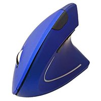 Mice Ergonomic Vertical Mouse Wireless 2.4GHz Optical Rechargeable With 6 Buttons To Reduce Wrist Pain