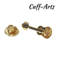 Pins, Brooches Brooch Electric Guitar Music Lapel Pin Jewelry Gold Color Pins And Broche De La Solapa By Cuffarts P10284