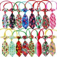 Dog Apparel 100pcs Neckties Summer Pet Supplies Small Dogs Bowtie Ties Cat Puppy Neckties Ties Accessories For