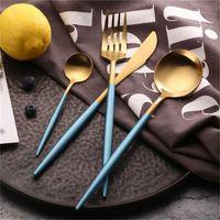 304 pembe beyaz yemek seti paslanmaz çelik set biftek bıçak çatal set kahve kaşığı çay kaşığı sofra takımı sofra mutfak silverwar 210 v2