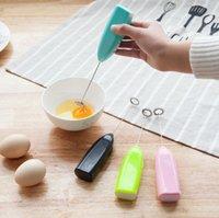 Elektrikli Süt Frother Otomatik Krem Vurucu Kahve Sallamak Mikser Elektrikli El Cappuccino Kahve Yumurta Çırpıcı İçecek Blender 6 Renkler