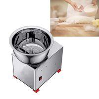 Small Kneading Machine Stainless Steel 220V Desktop Home Croissant Noodle Wonton Wrapper Dough Mixer Automatic Kitchen Appliance Proces Food