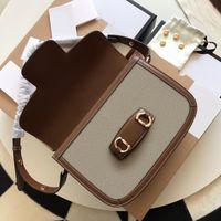 Mulheres luxurys designers 1955 série saddle bolsa de cavalo bolsa de cavalo ombro cosmético sacos moda crossbody bolsa bolsas bolsas tote shopping backpack totes bolsa