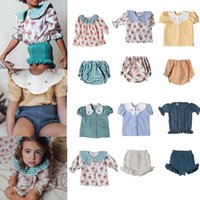 Clothing Sets Toddler Girl Outfits BP Brand Baby Floral T- Shirts Shorts 2021 Summer Boys Tops Blouse Pants Outfit Boutique Kids