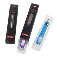 정통 v III v3 650 900mAh Evod 자아 510 배터리 8colors 마이크로 USB 충전 Passthrough Vape 배터리 VS 스피너 3S 배터리 DHL