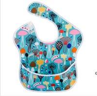 Baby Bibs Overlothes A prueba de agua Cena de babero BIB Handkerchief Saliva Toalla Algodón Recién nacido Burp Paños de algodón Feedin Gvestur DHC6838