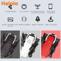 Halolo lf606 1080p mini drone com câmera hd hight hight mode rc quadcopter rtf wifi fpv helicóptero dobrável vs e61 drone 210325