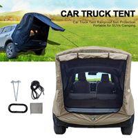 الخيام والملاجئ شاحنة خيمة الشمس المأوى SUV السيارات المظلة المحمولة العربة مقطورة على السطح سيارة المظلة التخييم في الهواء الطلق