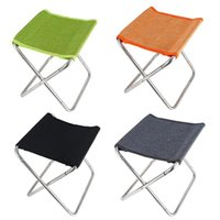 Mounchain Spectacle en acier inoxydable Chaise pliante Sports de plein air Pêche Randonnée Camping Barbecue Tabouret Accessoires d'équipement