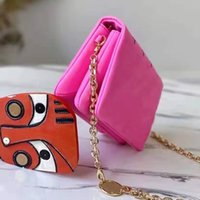 Luxurys 미니 쿠신 디자이너 어깨 가방 여성 패션 앞으로 여성 크로스 바디 최고 품질의 지갑 지갑