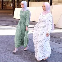 Kalenmos Ramadan Eid Muçulmano Vestido Abaya Turquia Hijab Mubarak Roupas Islâmicas Para As Mulheres Dubai Kaftan Omã Robe UAE PARA MUJER1