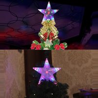 Strings LED Christmas Decoration Lights Waterproof Five-Pointed Star Fairy Wedding Restaurant Romantic Table Lamp