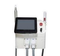 2 en 1 DPL portable Super Fast Fast PicoSecond Laser Tatouge Élimilement Équipement d'épilation DPL DPL DOULER DOUBLES DE LA LAZER DISPAW SPAWS
